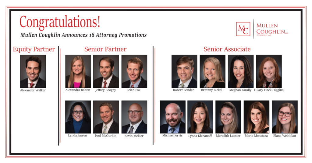 Pictures of Promoted Attorneys